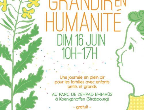 Festival Grandir en Humanité – 16 juin